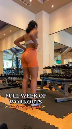Leg And Glute Workout, Buttocks Workout, Leg Day Workouts, Slim Waist Workout, Gym Workout Videos, Sunday Workout, Glute Workouts, Workout Tips, Fitness Workout For Women