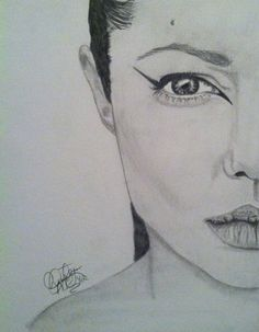 Angelina Jolie  .7 mechanical pencil   30 minutes of work