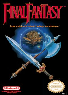 """I still have the Nintendo Power poster of this game framed on my wall. If a game today is only half as influential as this the original Final Fantasy was back then, it has made a great accomplishment. """"Tceles B Hsup. a magic spell? 80s Video Games, Video Game Posters, Vintage Video Games, Classic Video Games, Vintage Games, Retro Games, Playstation, Nes Games, Nintendo Games"""