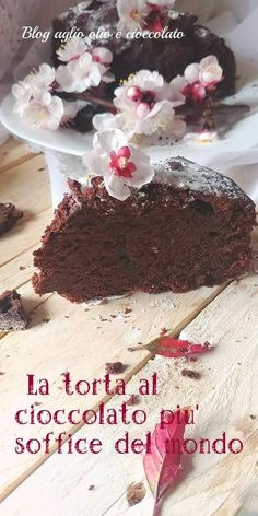 Delicious Desserts, Yummy Food, Friend Recipe, Plum Cake, Nutella, Chocolate Cake, Food And Drink, Favorite Recipes, Sweets