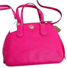 4cccc46641 Coach Mini Prince 34940 Li Pink Ruby Satchel on Sale