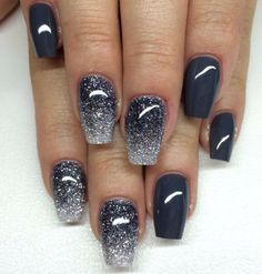 diamond-grey-nail-art                                                                                                                                                                                 More