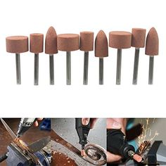 Carving Expert Abrasive Mounted Stone For Dremel Rotary Tools Grinding Stone Wheel Head Dremel Accessories Inch Shank Dremel Bits Guide, Dremel Tool Bits, Dremel Tool Projects, Dremel Drill, Dremel Rotary Tool, Dremel Ideas, Electric Wood Carving Tools, Dremel Wood Carving, Dremel Parts