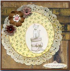 Mångpysslare: Några scrappade födelsedagskort