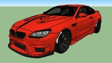 3D Model of BMW+M6+2014 Modified by GAITH GM