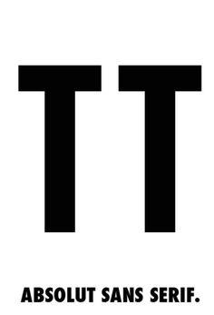 Absolut sans serif
