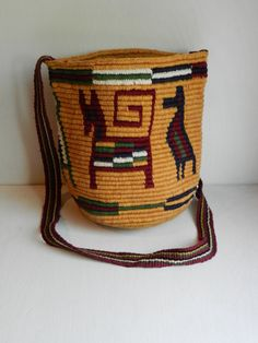Vintage Tribal Purse Tote Shoulder Bag Ethnic by dearhuckleberry, $34.00