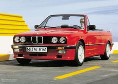 """RED 87 BMW E30 """" That's It!!!! Pure Love!! <3"""
