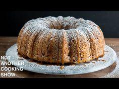 it's like APPLE PIE but it's a CAKE - YouTube Apple Tart Recipe, Bundt Pans, Cake Youtube, Apple Cake, Bagel, Doughnut, Pie, Xmas, Cream