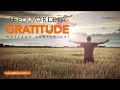 Le pouvoir de la gratitude | Message subliminal AUDIO affirmations positives | Subliminal Online - YouTube