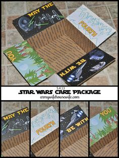 Star Wars Care Package -- #army #deployment