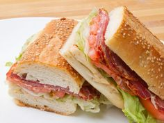A Sandwich a Day: Spicy Capicola from Parisi Bakery