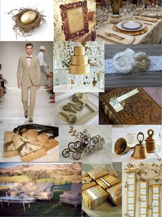 Gold Wedding by Kerri Hatter