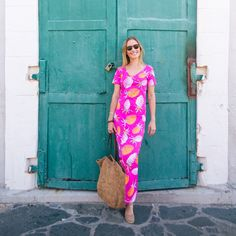 Persifor Pineapples Florence Dress