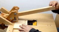 5 Home-Made Pocket Hole Machines - Tools of the Trade