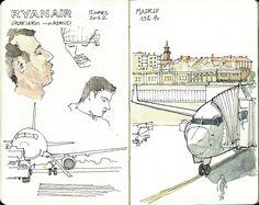 Lisbonne, petit carnet, petits dessins.1   by gerard michel