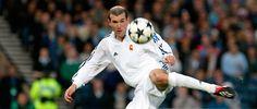 La vidéo de bienvenue à Zidane