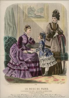 La Mode de Paris 1874
