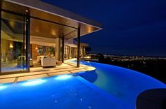 Bluejay Residence, LA!     Good grief, I would kill to live here.