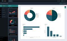 Custom Data Dashboard editor by Visage