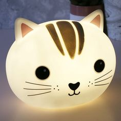 c37b00299 Looking for Children's Night Lights? Try this Cat Head Lamp from Sass &  Belle
