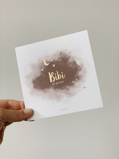 Girl birth announcement card with stars and moon in gold foil - Praktische İnformatie Birth Announcement Girl, Announcement Cards, Birth Announcements, Unisex Baby Names, Baby Girl Names, Baby Boys, Baby Name List, Jewel Tone Wedding, Laura Lee