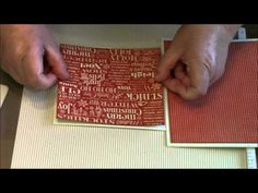 Graphic 45 T'was the night before Christmas mini album tutorial Country Craft Creations Dt part 5 - YouTube