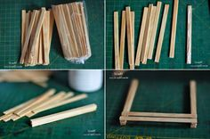 ScrapBi: DIY - Como fazer mini pallets