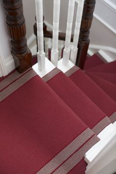 Stair Runners, carpet runners, stair rods and hall runners Where To Buy Carpet, Hallway Inspiration, Hall Runner, Stair Rods, Hall Carpet, Hallway Decorating, Decorating Ideas, Carpet Runner, Pure Products