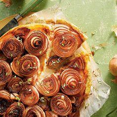 Caramelized Sweet Onion Tarte Tatin - Georgia Gems: Vidalia Onion Recipes - Southern Living