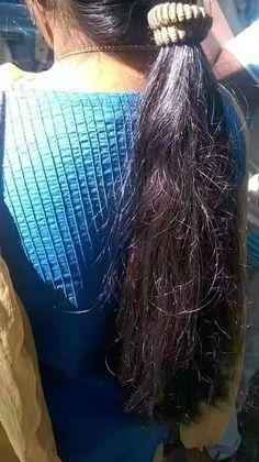 Long Silky Hair, Long Black Hair, Long Bob Hairstyles, Ponytail Hairstyles, Hair Ponytail, Indian Long Hair Braid, Braids For Long Hair, Beautiful Long Hair, Amazing Hair