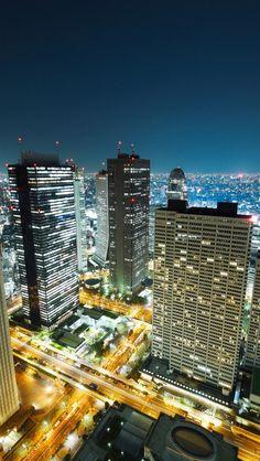 Lights Of Tokyo, Japan