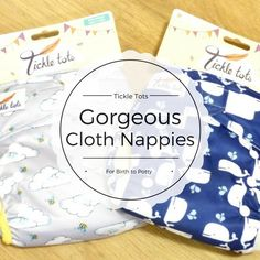 Tickle Tots Cloth Nappy Review