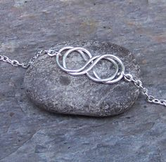 Double Infinity Necklace. cute double infinity tattoo design