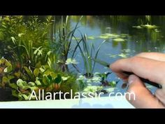 ▶ Painting a Landscape Scene | Peder Mork Monsted - YouTube