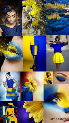 Decorating with Blue and Yellow. This article is about decorating with color combination of blue and yellow.