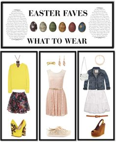 """EASTER FAVES"" by simy4eva on Polyvore"