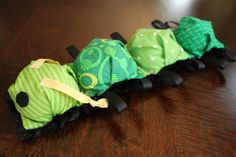 Fat Quarter Friday: Bubble Caterpillar for Baby | Awaiting Ada - Too stinking cute!!