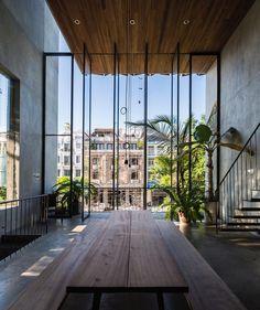 "12.7k Likes, 31 Comments - Art & Architecture Magazine (@modern.architect) on Instagram: ""Thong House by NISHIZAWA Architects (2014), Ho Chi Minh #Vietnam ... Hiroyuki Oki"""