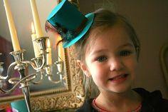 Alice In Wonderland Baby Shower Easy to make fascinators with headband
