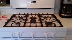 WARNING: Frigidaire Gallery 5 burner Gas Range, Self-Cleaning Convection...