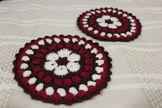 Ravelry: Project Gallery for African Flower Mandala Pot Holder pattern by Alice Best