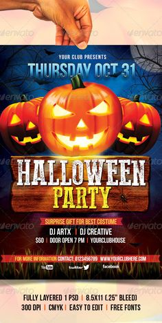 Halloween Flyer by creativeartx   GraphicRiver