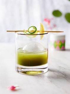 Matcha-Gurken-Julep Summer Drink Recipes, Summer Drinks, Matcha, Tea, Food, Recipies, Summer, Summer Beverages, Essen