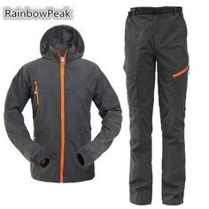 31.90$  Watch more here - http://ai9ef.worlditems.win/all/product.php?id=32731665599 - Summer autumn Outdoor clothing UV protection Quick-drying jacket pants men women mountaineering sportwear camping & hiking suit