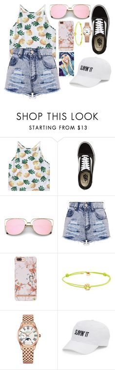 """summer of tomboys"" by danifashionblog ❤ liked on Polyvore featuring Vans, Marc by Marc Jacobs, Zenith and SO   #Makeup #ShadesForSummer #Style #Boutique #Trends #Trending #Trendsetters #Style #MUAs #Florida #Miami #Atlanta #Georgia #Washington #Canada #Calgary #Ontario #Buffalo #Phoenix #ArtInstitute #FashionForward #Fashion #Style"