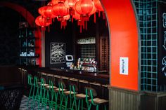 Coffee Shop Design, Cafe Design, Chinese Restaurant, Cafe Restaurant, Chinese Bar, Generator Hostel, Tan Kitchen, Chinese Interior, Noodle Bar
