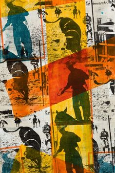 Rodeo stars, ranches and wide open vistas inform the works by artist Maura Allen. #luxeCO