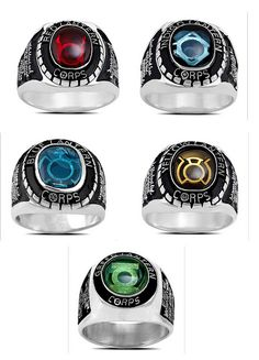 Lantern Corps Rings, and are those the oaths I see engraved on the side? ...SHUT UP AND TAKE MY MONEY!!!