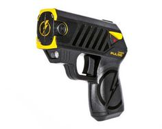 The new TASER Pulse is the latest in TASER Self-Defense innovation. This is a high-tech, subcompact weapon with an intuitive concealed carry design that packs the same knock-down punch used by law enforcement around the world. With the TASER Pulse you can reach an attacker from up to 15 feet away and immobilize them for 30 seconds, giving you time to make a Safe Escape.